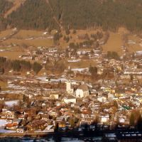 Kitzbuhel from above, Кицбюэль