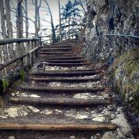 ...die nächsten 150 Stufen ins *Kaisertal, Куфштайн