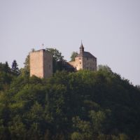 Blick auf Thierbergkapelle von Hotel Auracher Löchl, Kufstein, Österreich, Куфштайн