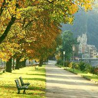 Goldener Oktober in Kufstein, Куфштайн