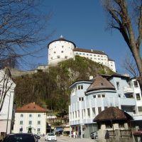 Festung Kuftstein (2/Mitte/O), ehemaliger Hauptaufgang, Kaiserturm (Staatsgefängnis) & Obere Schlosskaserne, Куфштайн
