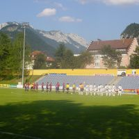 Genoa 1893 Supporters at Kufstein Stadium for friendly match (july 2006), Куфштайн