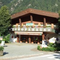 Das alte Europahaus in Mayrhofen, Майрхофен
