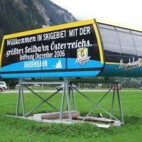 Die neue Ahorn-Gondel für 160 Personen, Майрхофен