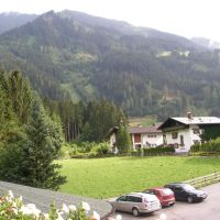 Mayrhofen - view from the Landhaus Roscher, Майрхофен