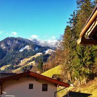 Blick auf die Zillertaler Alpen, Майрхофен