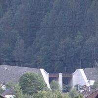 Trieben Neubau Hochwasserschutz Schwarzenbach 2013, Трибен