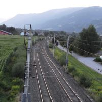 Trieben Bahnstrecke 2013, Трибен