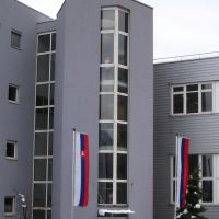 MACO-Werk, Eingang, Трибен