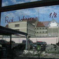 Der Blick vom Cafehaus auf das Gefängnis Feldkirch, Фельдкирх