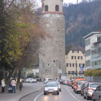 Tower from yesterday like new. Feldkirch, Austria, Фельдкирх