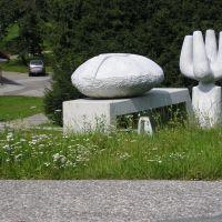 Lebensraum Wasser - Skulpturen durchs Krastal, Филлах