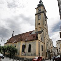 Stadtpfarrkirche, Linz, Austria / *IB*, Линц