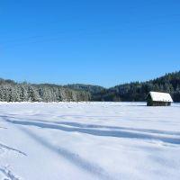Winterlandschaft in Weißenbach, Виллач