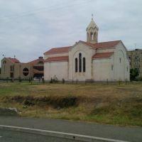 Armenian   Saint Hakovb Church , Stepanakert 2011Aug, Степанокерт