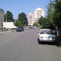 looking from  Hekimian st. to Zax bldg.  Artsakh,2011, Степанокерт
