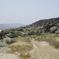 Gobustan (Qobustan) Nationalpark 70km südlich von Baku (Baki), Гобустан