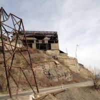 Старое, полуразрушенное укрытие дороги от камней, Дашкесан