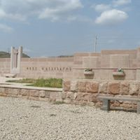 Деревня Храморт. Монумент павшим в борьбе за независимость НКР, Закаталы