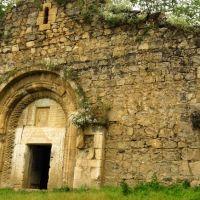 Nagorno-Karabakh Republic - Church in Tsakory village  Нагорно-Карабахская республика - Церквушка в деревне Цакори, Закаталы
