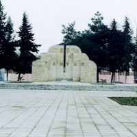 Azerbaijan İmishli - 20 Yanvar khatira lovhasi (Azərbaycan İmişli Rayonu 20 yanvar xatirə lövhəsi), Имишли