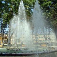 Центральный фонтан со светомузыкой, Исмаиллы