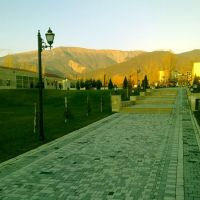 Парк имени Зарифы Алиевой, Исмаиллы