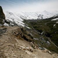 Route vers Xinaliq, Казанбулак