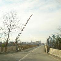 30.01.2010 Yevlax - kür üzərindən körpü, Казах