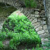 Нагорно-Карабахская республика. Каменный мост XVII века в деревне Аветараноц (Чанахчи), Казах