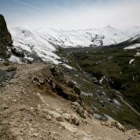 Route vers Xinaliq, Казах