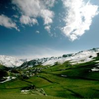 Le village de Cek, Казах