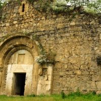 Nagorno-Karabakh Republic - Church in Tsakory village  Нагорно-Карабахская республика - Церквушка в деревне Цакори, Касум-Исмаилов