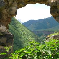 Nagorno-Karabakh Republic - View from Karvajar ruins Нагорно-Карабахская республика - Вид с карвачарских руин, Кельбаджар