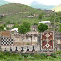Soviet chess scholl frescos, Кельбаджар