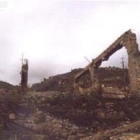 Руины универмага города Кельбаджар Азербайджанской Республики. После оккупации., Кельбаджар