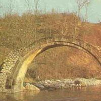 Kubadli-Azerbaijan. The bridge over the river Aha, Кубатлы