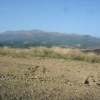 Гора Кирс на горизонте . Арцах!!!, Мардакерт