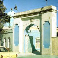Mashtaga - brama meczetu, Маштага