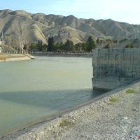 Yuxari Qarabag Kanali, Мингечаур
