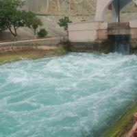Yuxari Qarabag Kanali-falls, Мингечаур
