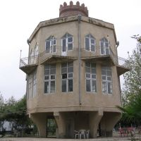 Samovar-shaped Restaurant @ Naftalan, Нафталан