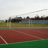 Волейбольная площадка на стадионе, Нафталан