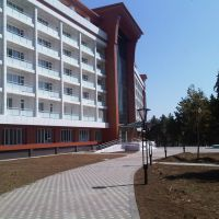 """Chinar"" sanatorium Fasad view, Нафталан"