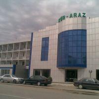 Kur-Araz oteli və şadlıq sarayı. @qan, Сабирабад
