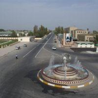Sabirabad şəhərinə giriş. @qan, Сабирабад