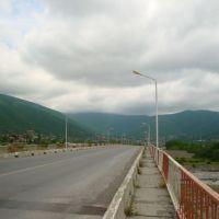 Scheki auf der Brücke, Шеки