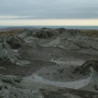 Mud volcano near Qobustan, Биласувар
