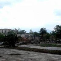 Руины города Агдам Азербайджанской Республики после оккупации., Агдам