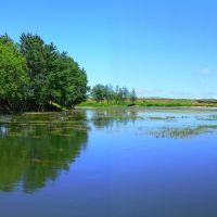 رود ارس-Aras river, Артем-Остров